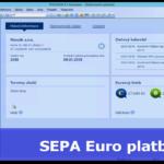 Odeslání SEPA EuroPlatby z programu POHODA
