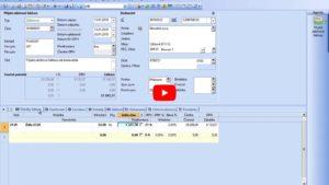 20. Doklady: Přijaté zálohové faktury a faktury (daň. doklad)