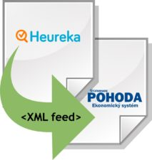 Import XML feedu z Heuraka do Pohody