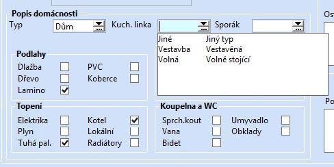 Servisní list - Uživatelská agenda systému POHODA E1